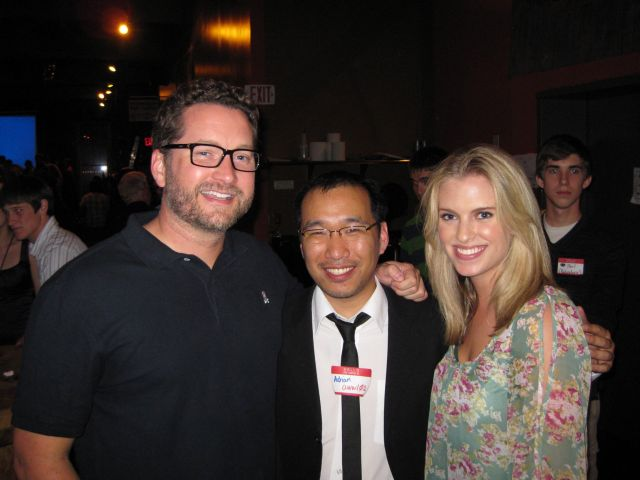 File:RTX 2012 - Burnie and Barbara with fan.jpg