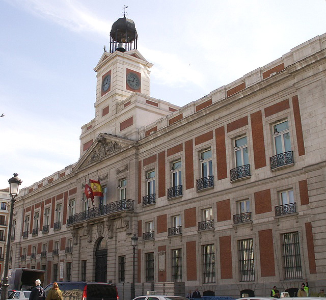 File Real Casa De Correos Madrid Wikimedia Commons