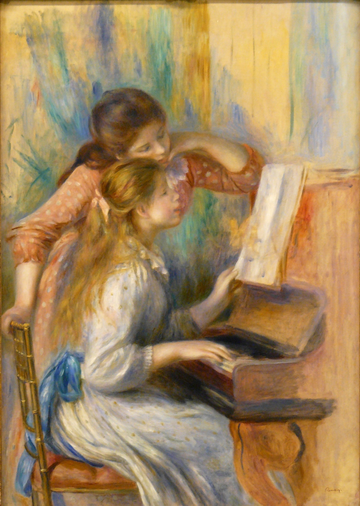 Pierre-Auguste Renoir Girls at the Piano