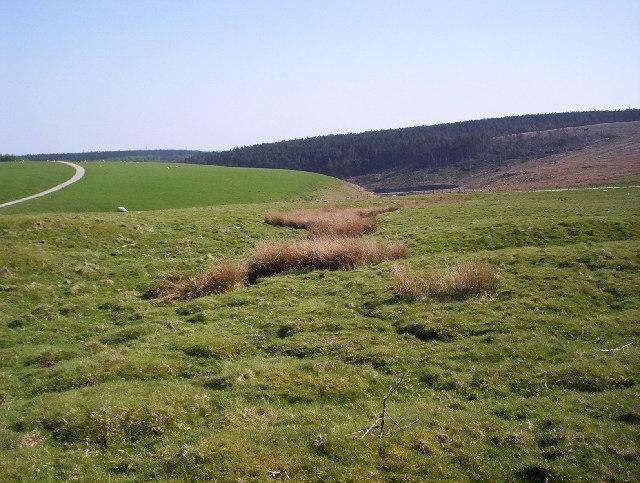 Rhyd Blaen-Y-Cwm Enclosure - geograph.org.uk - 95375