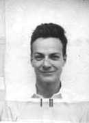 Richard Feynman ID badge.png