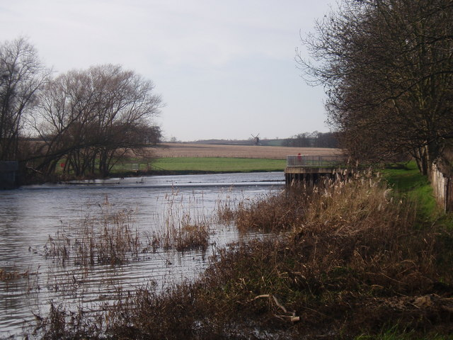 River Great Ouse at Oakley - geograph.org.uk - 311308