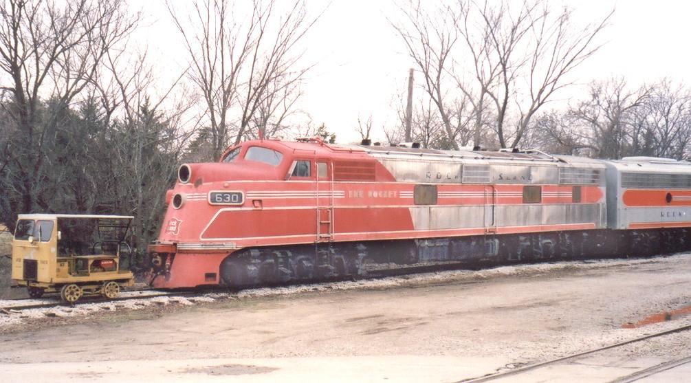 Rock Island Steam Locomotive Roster