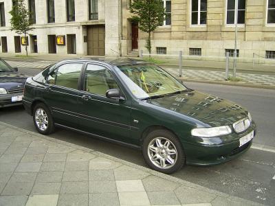 Auto Abbandonate - Pagina 40 Rover_400