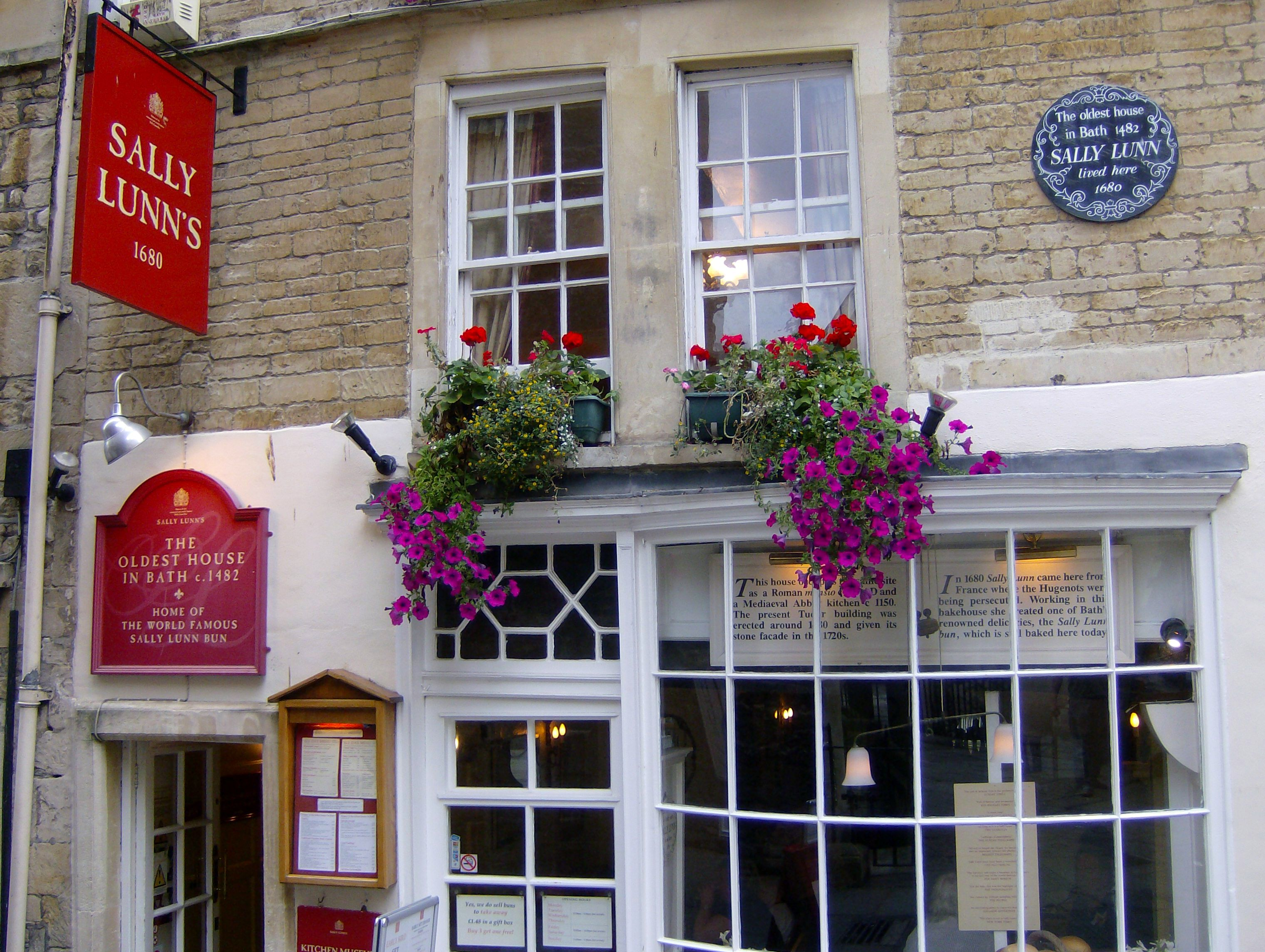 Sally Lunn Cake Shop Bath