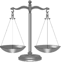 scales of justice, public domain