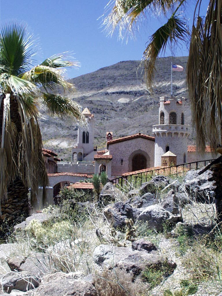 Walking Tours of Scotty's Castle Grounds @ Grapevine Ranger Station in Death Valley