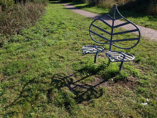 Seat on Castleman Trailway - geograph.org.uk - 1541523