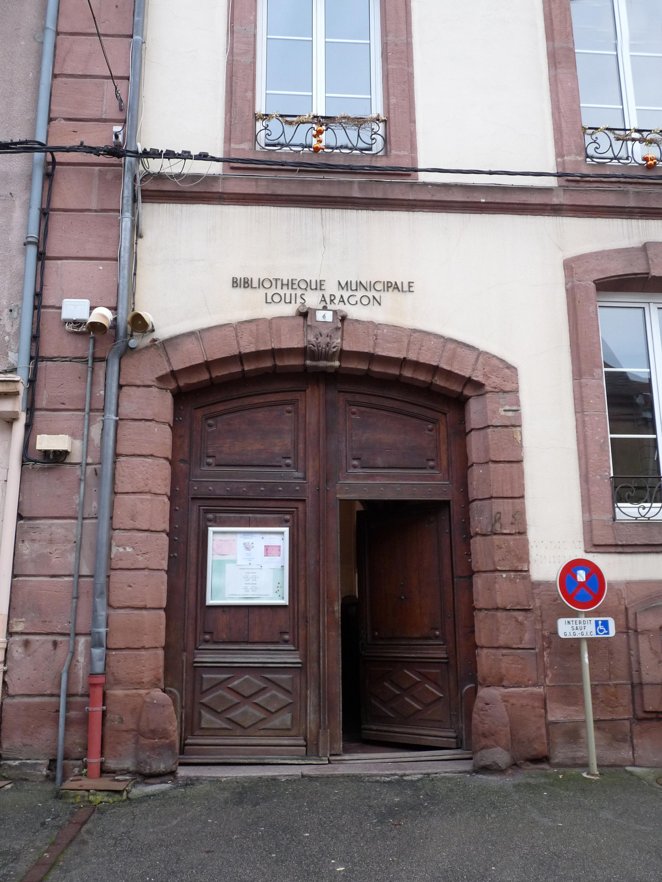 File Senones Biblioth Que Municipale Louis Aragon 2 Jpg  # Bibliotheque Fer Forge