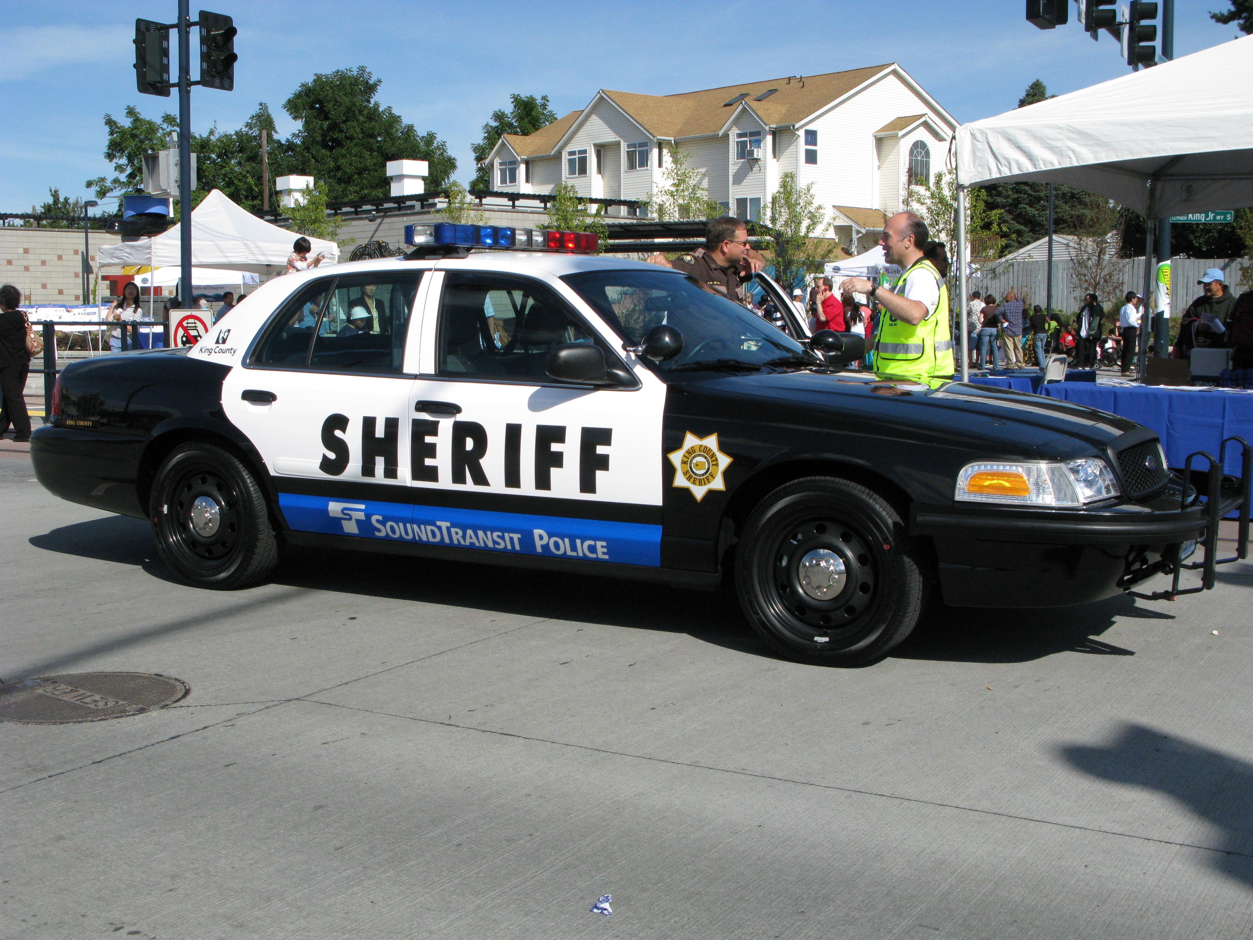 Sound Transit Logo in Sound Transit Police