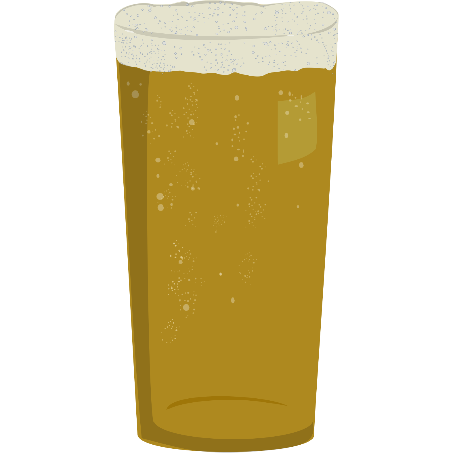 File:straight Beer Glass.png