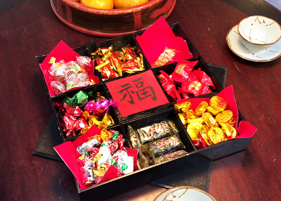 Sugar candy of lunar new year