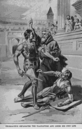 odysseus v telemachus The event involves odysseus offering his seat to telemachus and telemachus refusing the offer the importance of this event is that odysseus, who is disguised as a beggar, is a greater man than telemachus and humble enough to offer his seat.