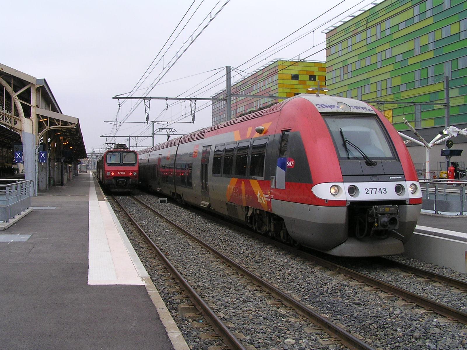 Trem de Barcelona a Perpignan