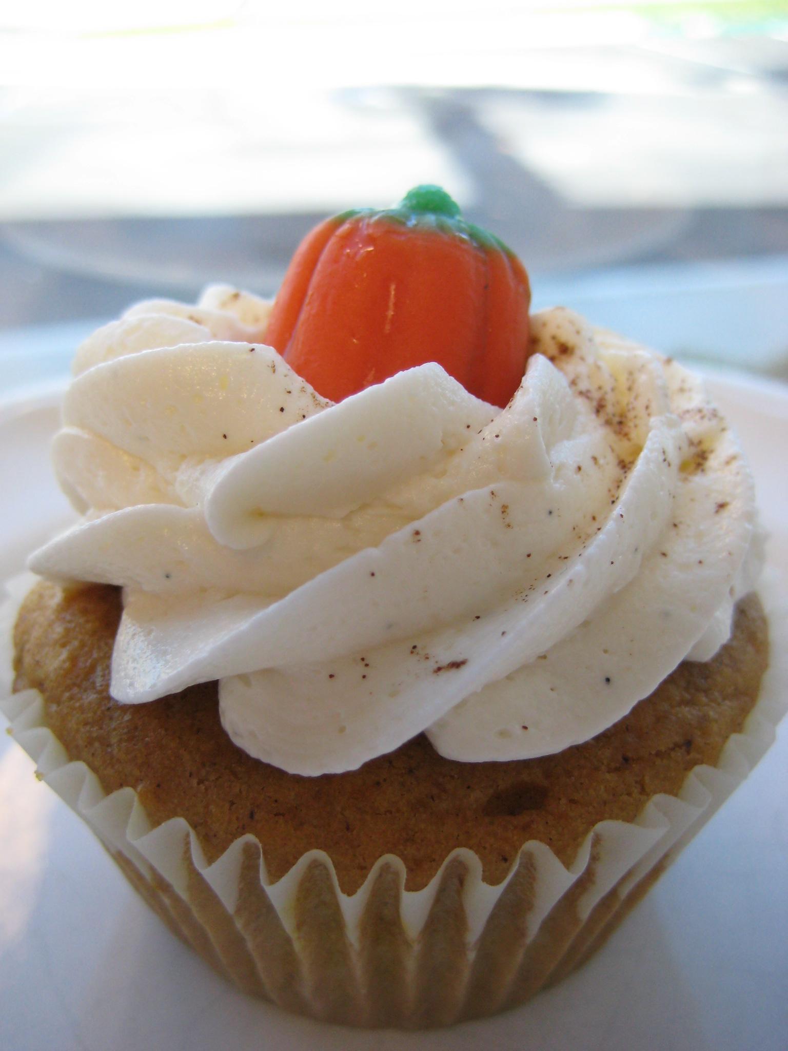 Pumpkin Cupcakes With Cake Mix  Ingredients