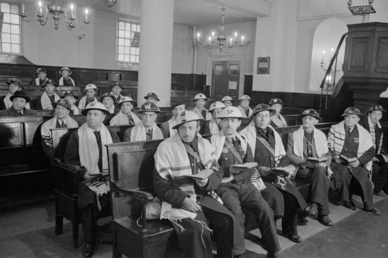 Image result for 1940's synagogue service