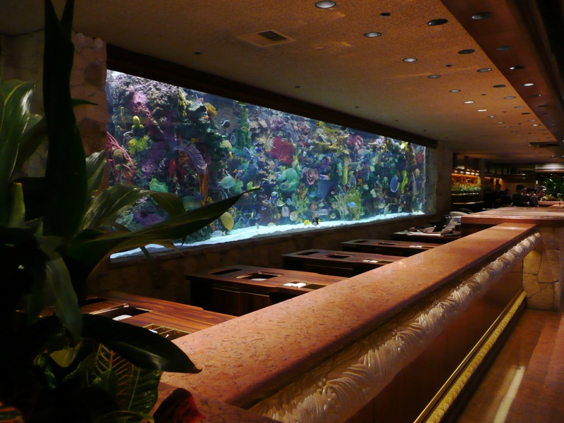 File the mirage lobby for Tropical fish las vegas