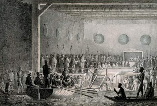 The signing of the Treaty of Labuan on 18 December 1846.jpg