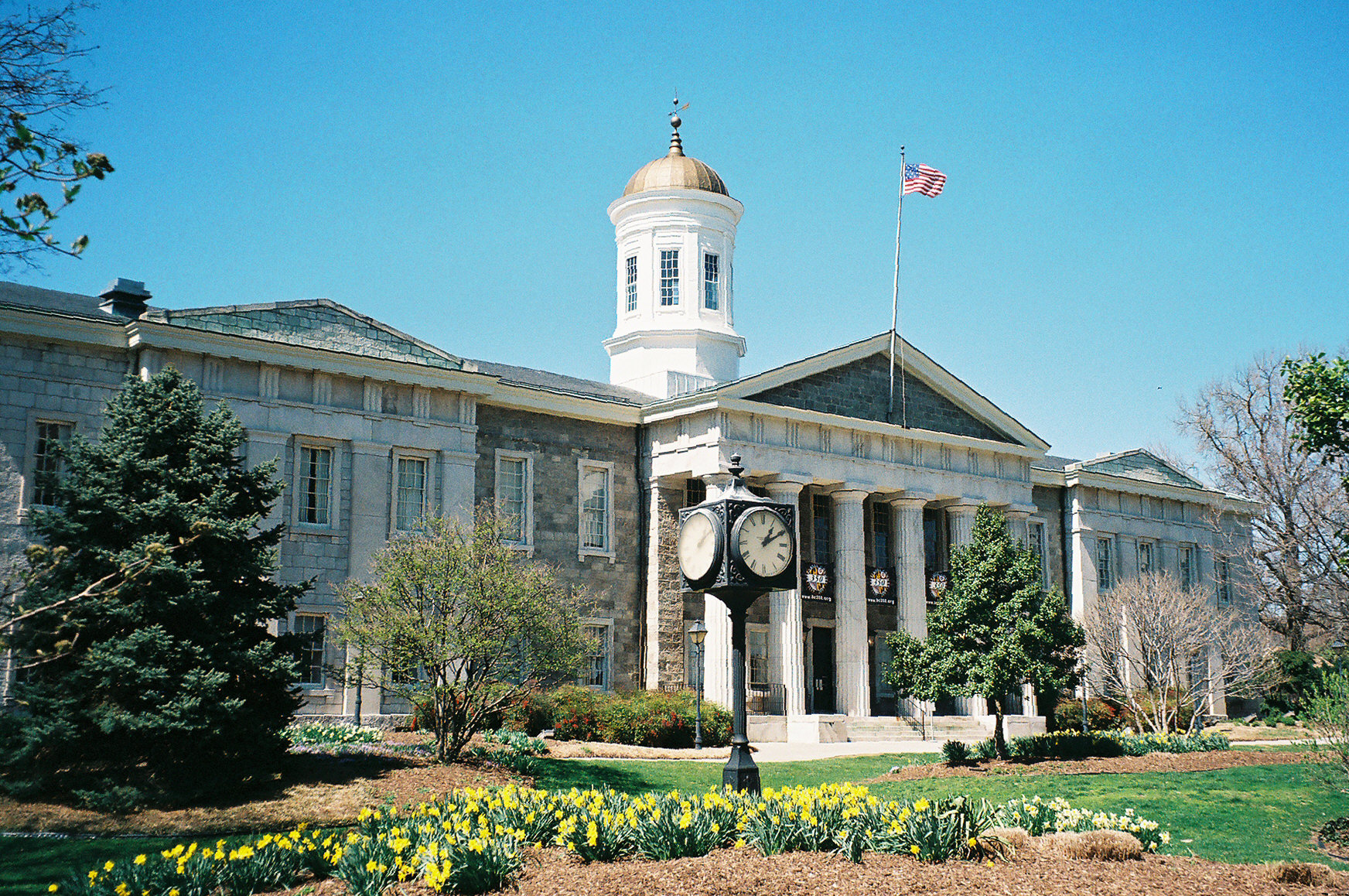 The Towson (Md.) Courthouse, with landscaping by Oehme
