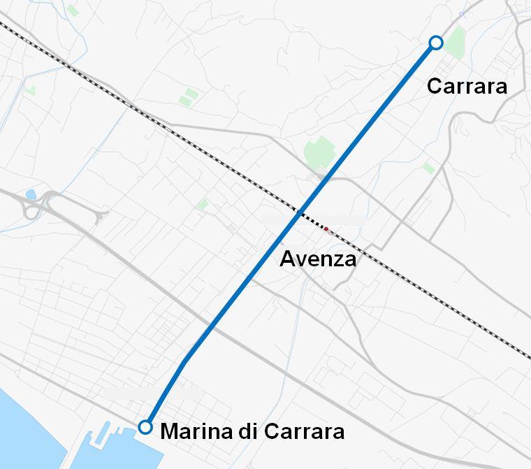 Tranvia CarraraMarina di Carrara Wikipedia