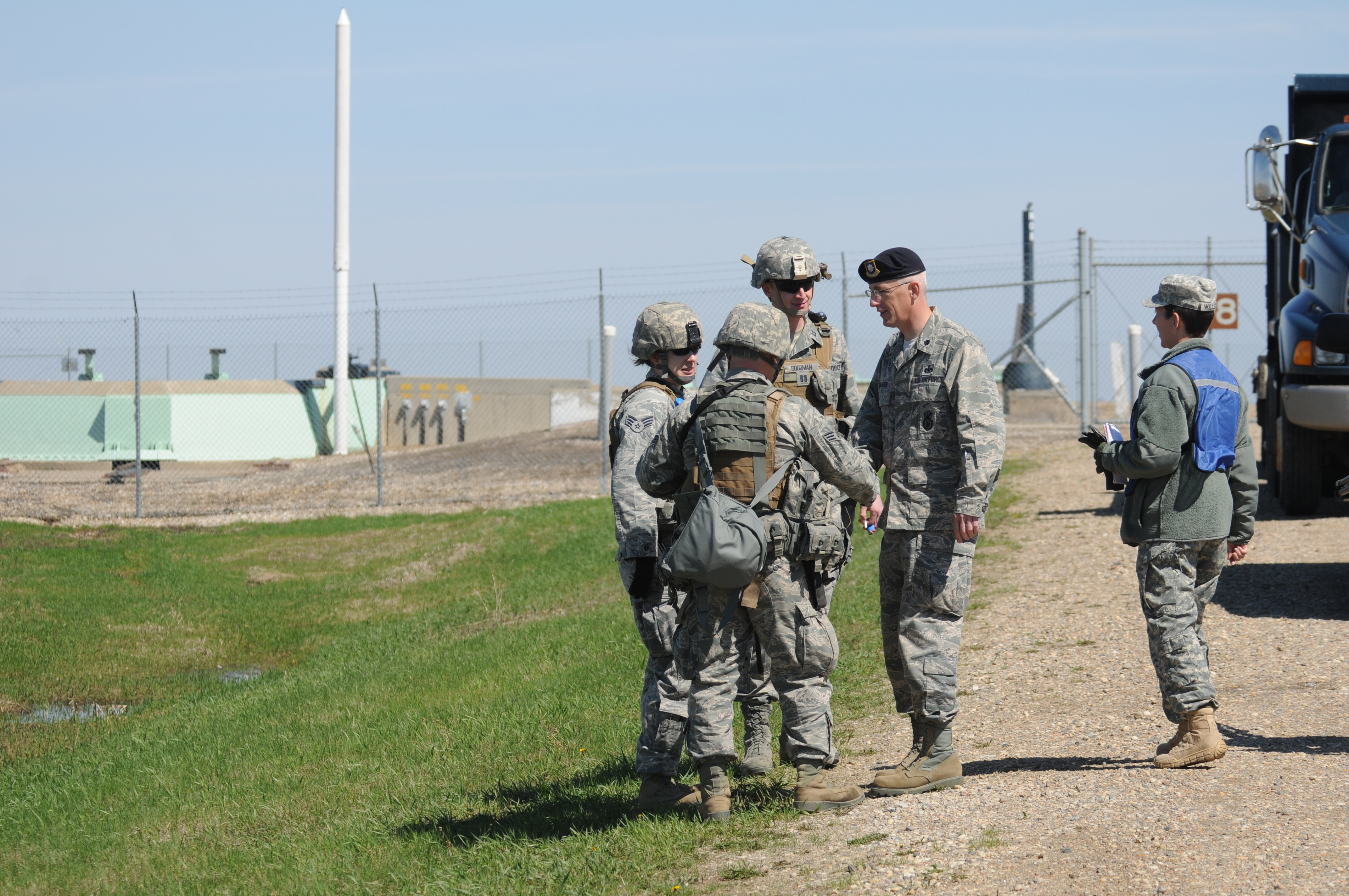 File:U.S. Air Force Lt. Col. Tad Schauer, second from ...