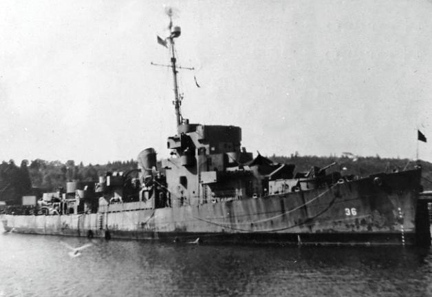36 Electric Range >> USS Manlove (DE-36) - Wikipedia