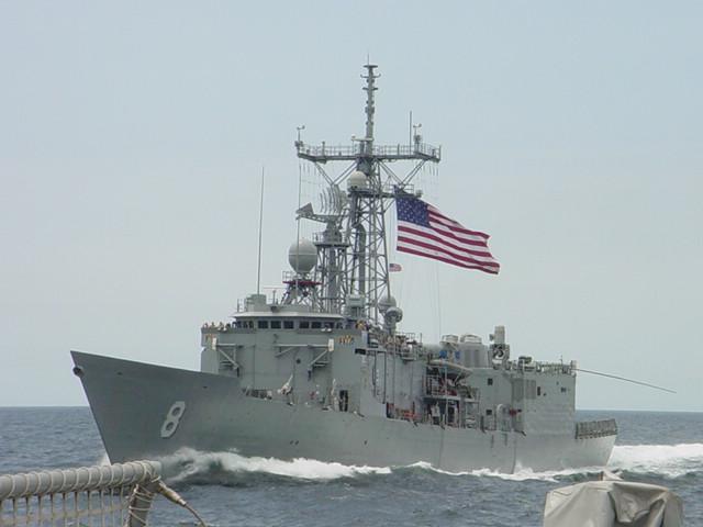 USS McInerney;mciflagfly.jpg