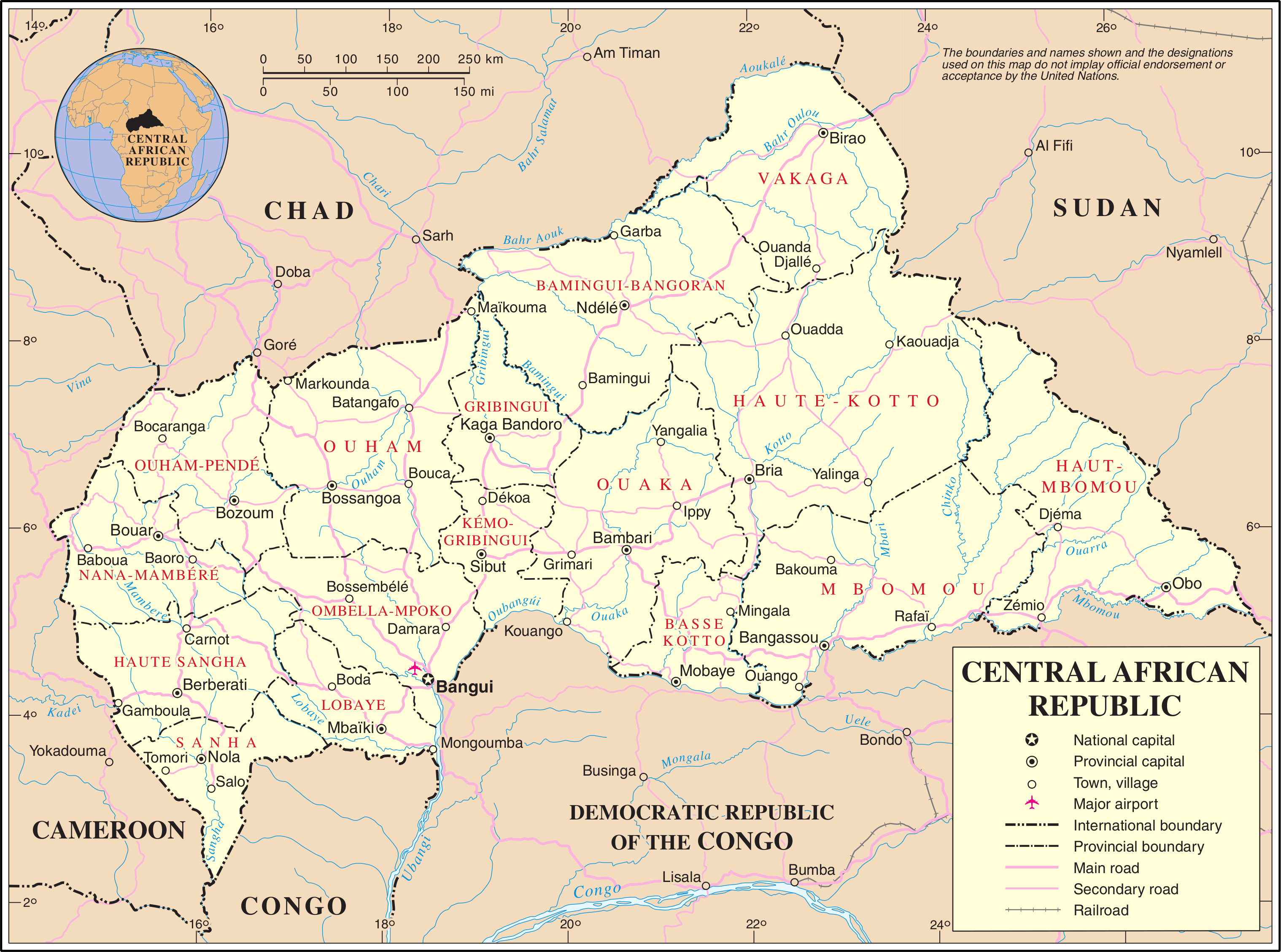 central african republic singles Central african republic - ethnic groups: the people of the central african republic range from the hunting-and-gathering forest pygmy peoples, the aka, to state-forming groups such as the zande and nzakara.