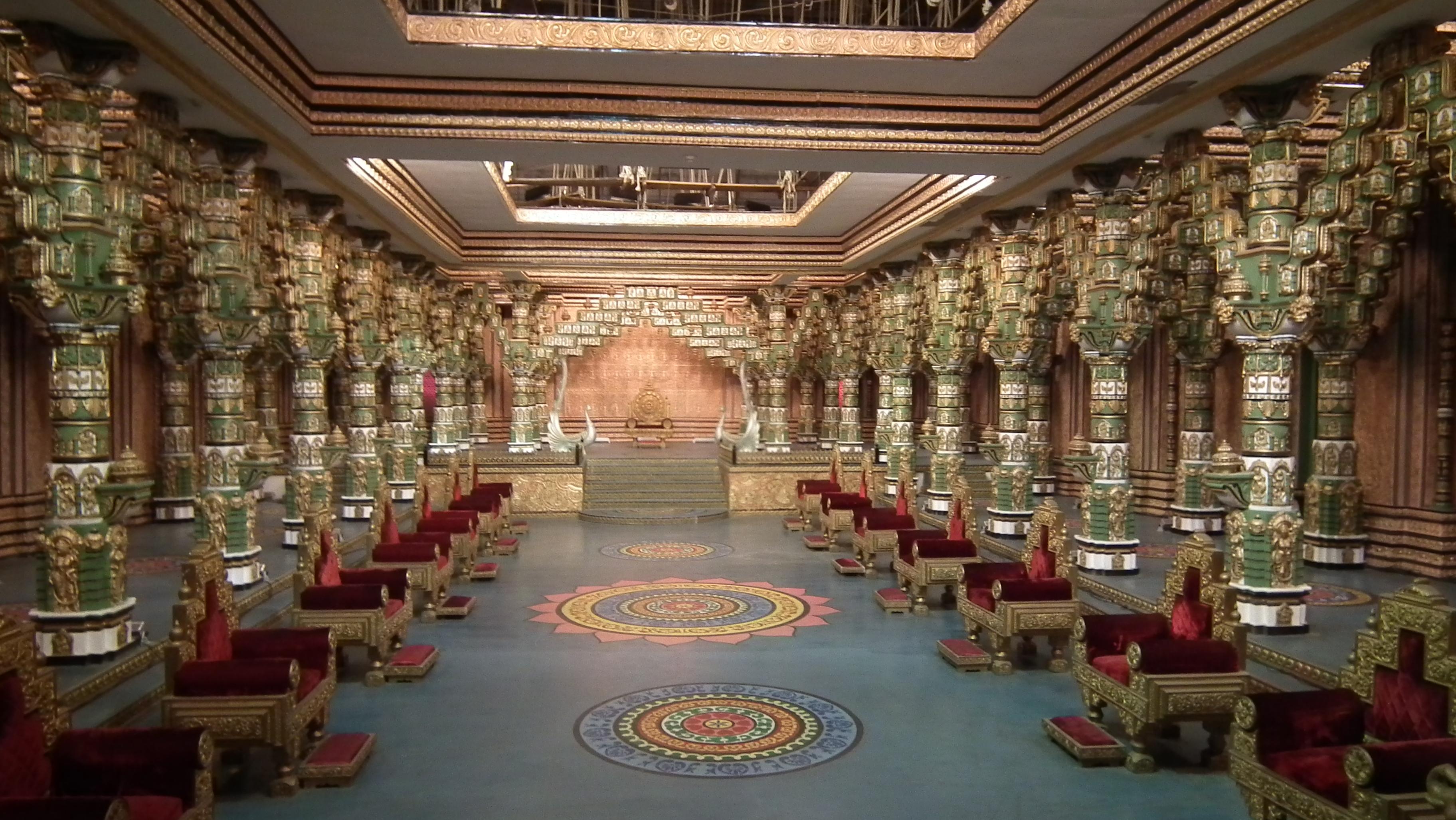 File View Of Shooting Set At Ramoji Film City Hyderabad