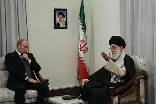 Vladmir Putin & Ayatollah Ali Khamenei