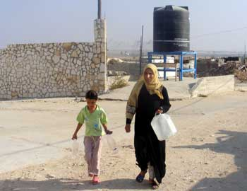 FileWater From Oxfam In Izbet Abd Rabu
