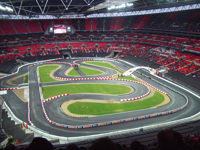 file wembley stadium race of champions wikimedia commons. Black Bedroom Furniture Sets. Home Design Ideas