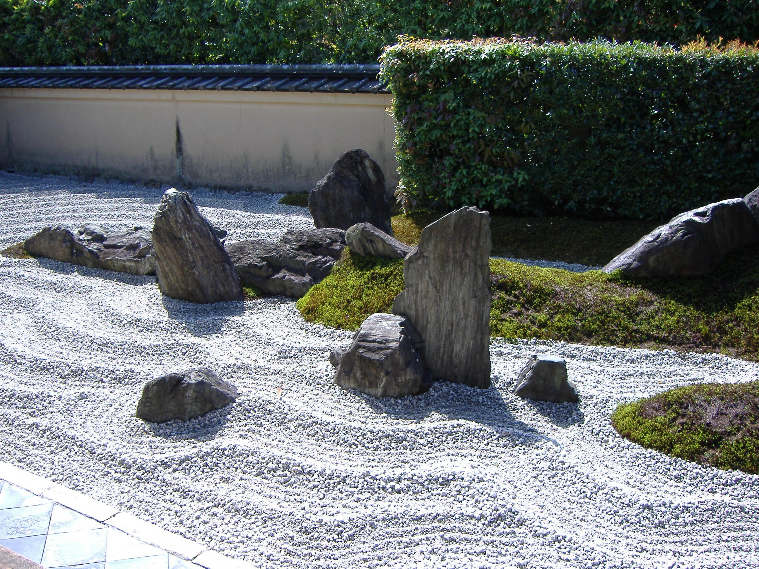 Zuih in garden kyoto karesansui gardens or for Japanese garden with rocks