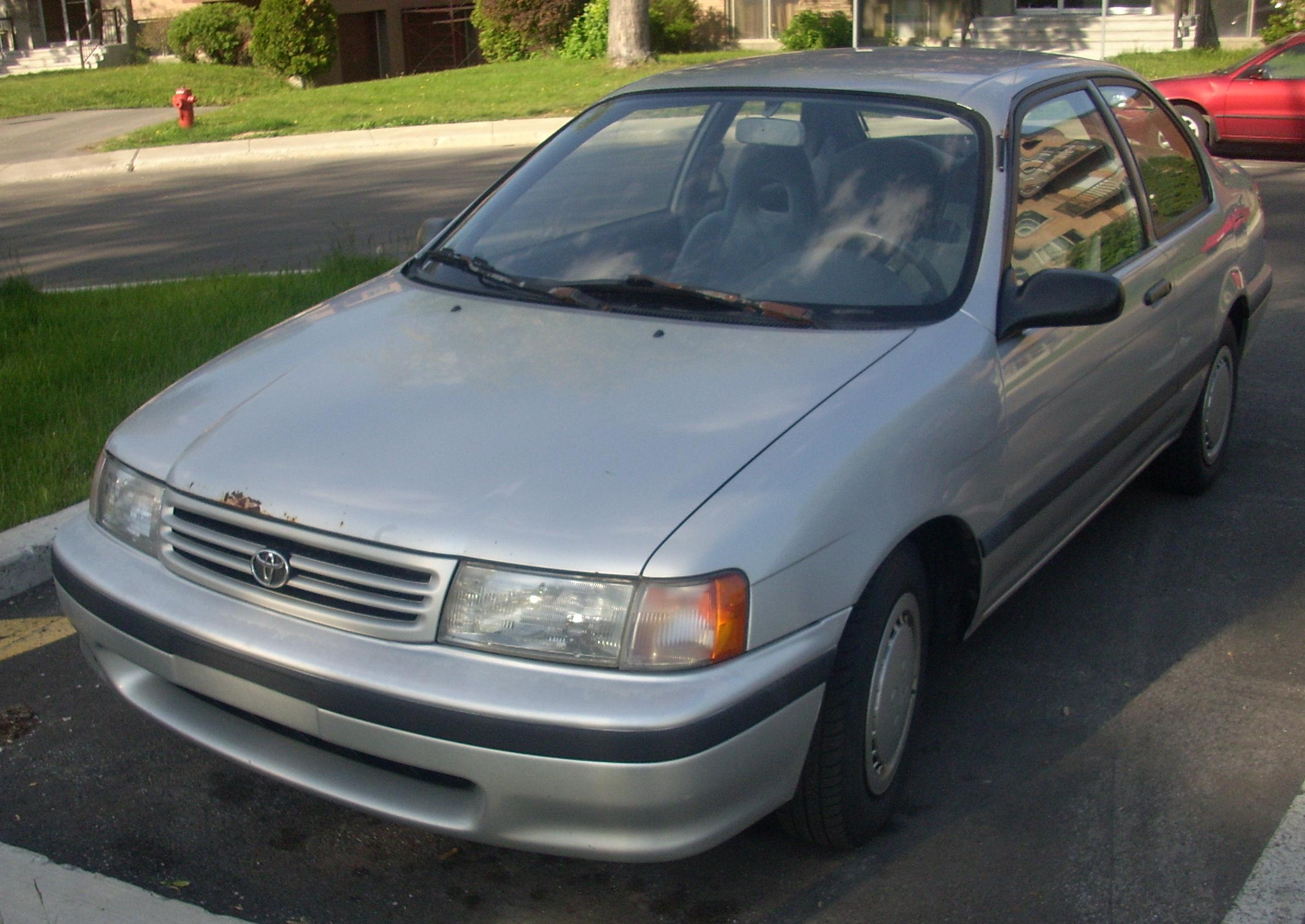 91 Tercel Toyota