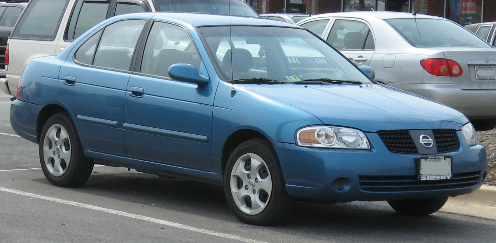File 2004 06 Nissan Sentra Jpg Wikimedia Commons