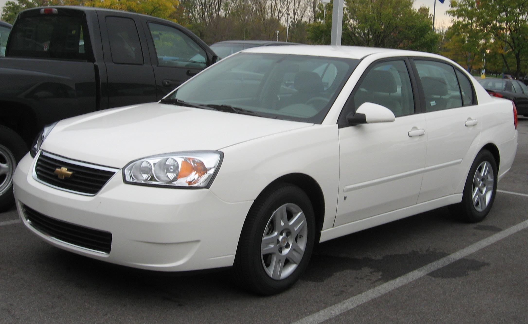 File 2007 Chevrolet Malibu Lt Sedan Jpg Wikimedia Commons