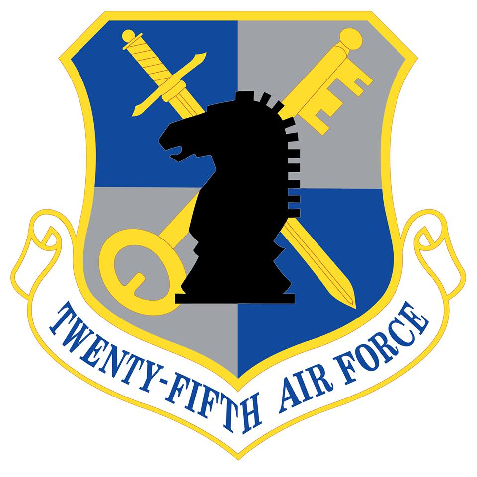USAF ACADEMY PATCH COLOR USAF 25TH CADET SQUADRON