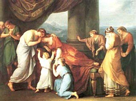 Apolo y Admeto Alcesti