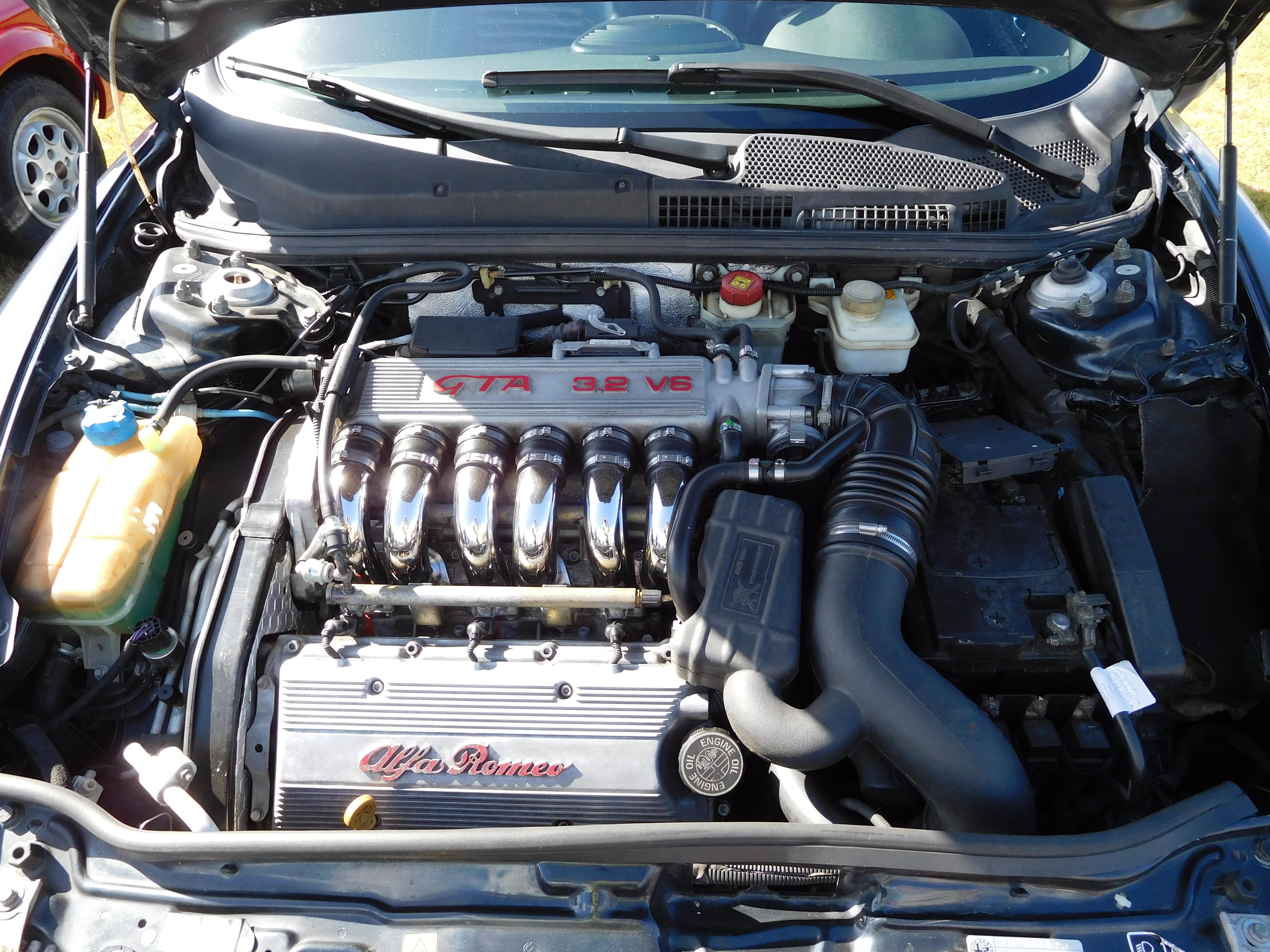 Alfa Romeo Gta C Engine