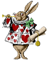 Alice rabbit art brown.png