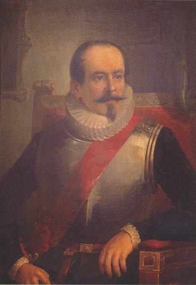 Depiction of Alonso de Ribera