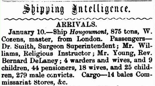 Hougoumont (ship) - Wikipedia