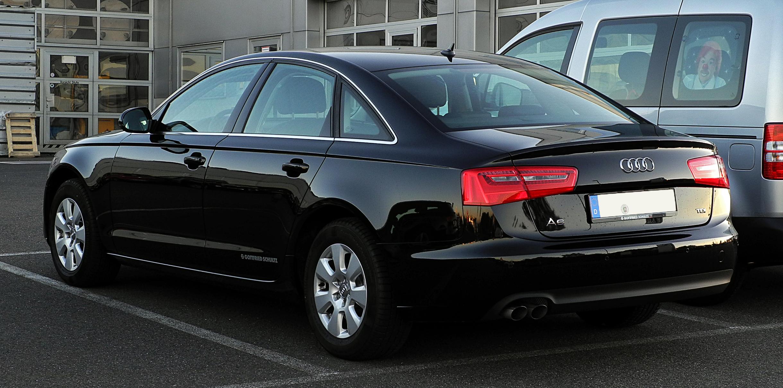File:Audi A6 2.0 TDI (C7) – Heckansicht, 15. Oktober 2011 ...