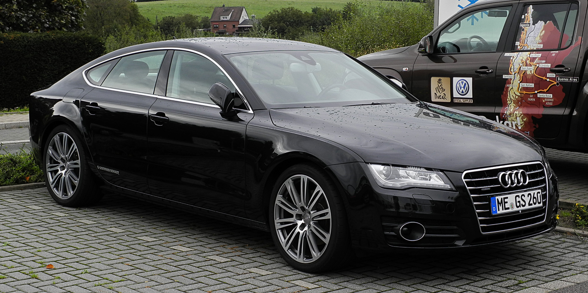 datei audi a7 sportback 3 0 tdi quattro frontansicht 1 11 september 2011. Black Bedroom Furniture Sets. Home Design Ideas