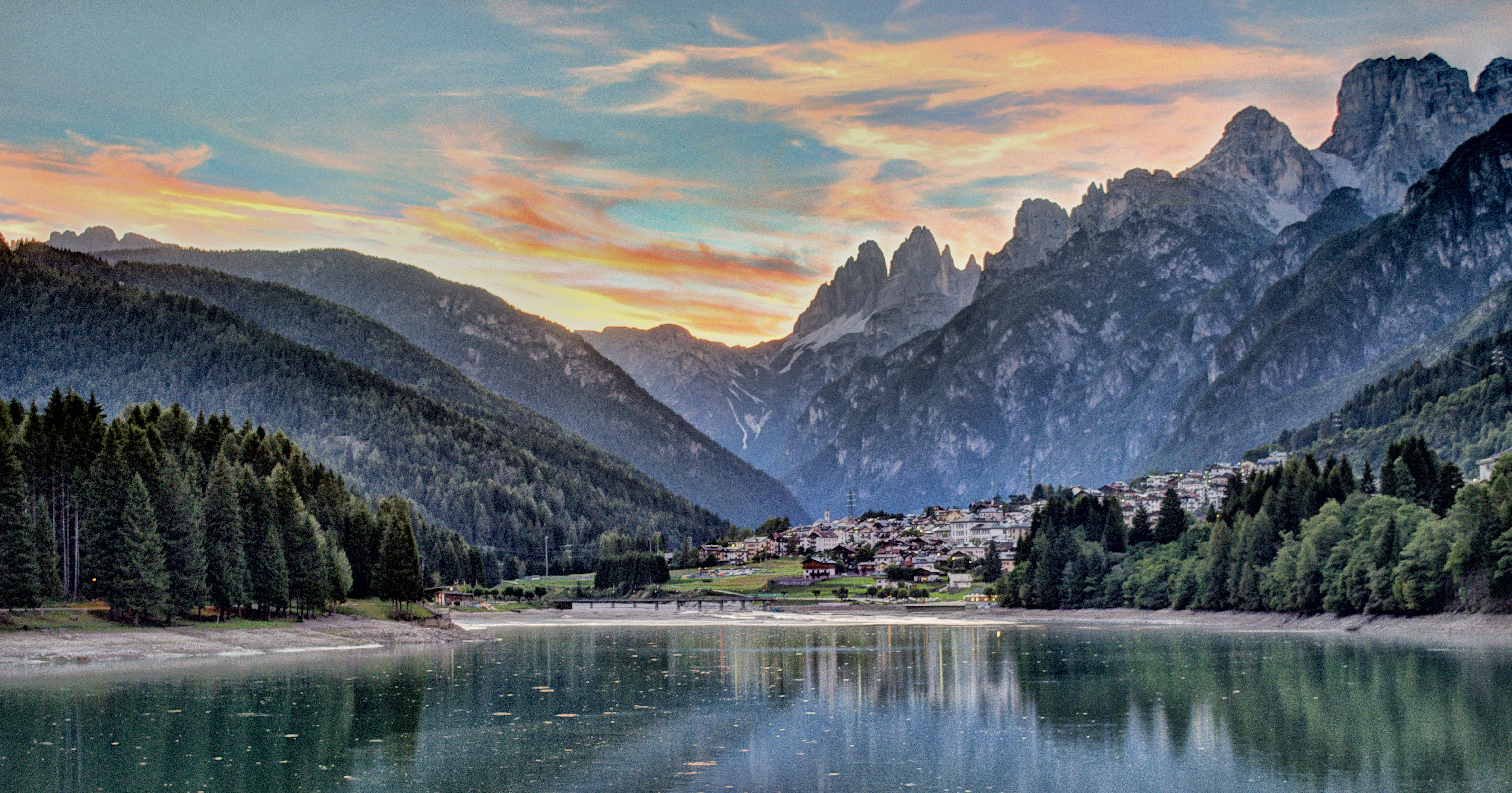Grand Hotel Misurina Ohne Transfer Italien Sudtirol Trentino Dolomiten Misurina