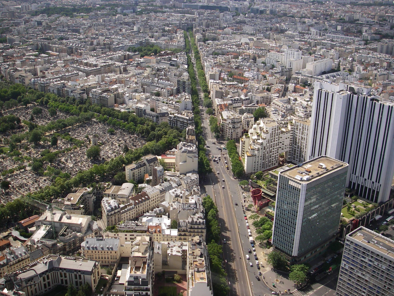 file avenue du maine et cimeti 232 re de montparnasse jpg wikimedia commons
