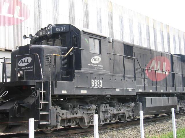 Fases de pintura de locomotivas BB33-7MP_mafra
