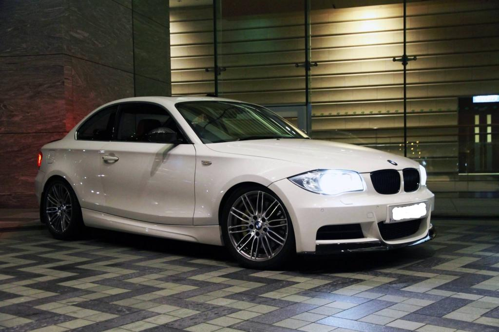 Bmw 116d m Sport Alpine White Bmw 135i in Alpine White With