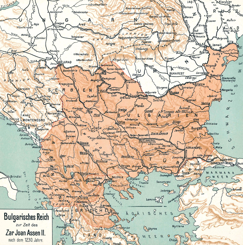 Bulgarien und die Balkanhalbinsel unter Iwan Assen II.