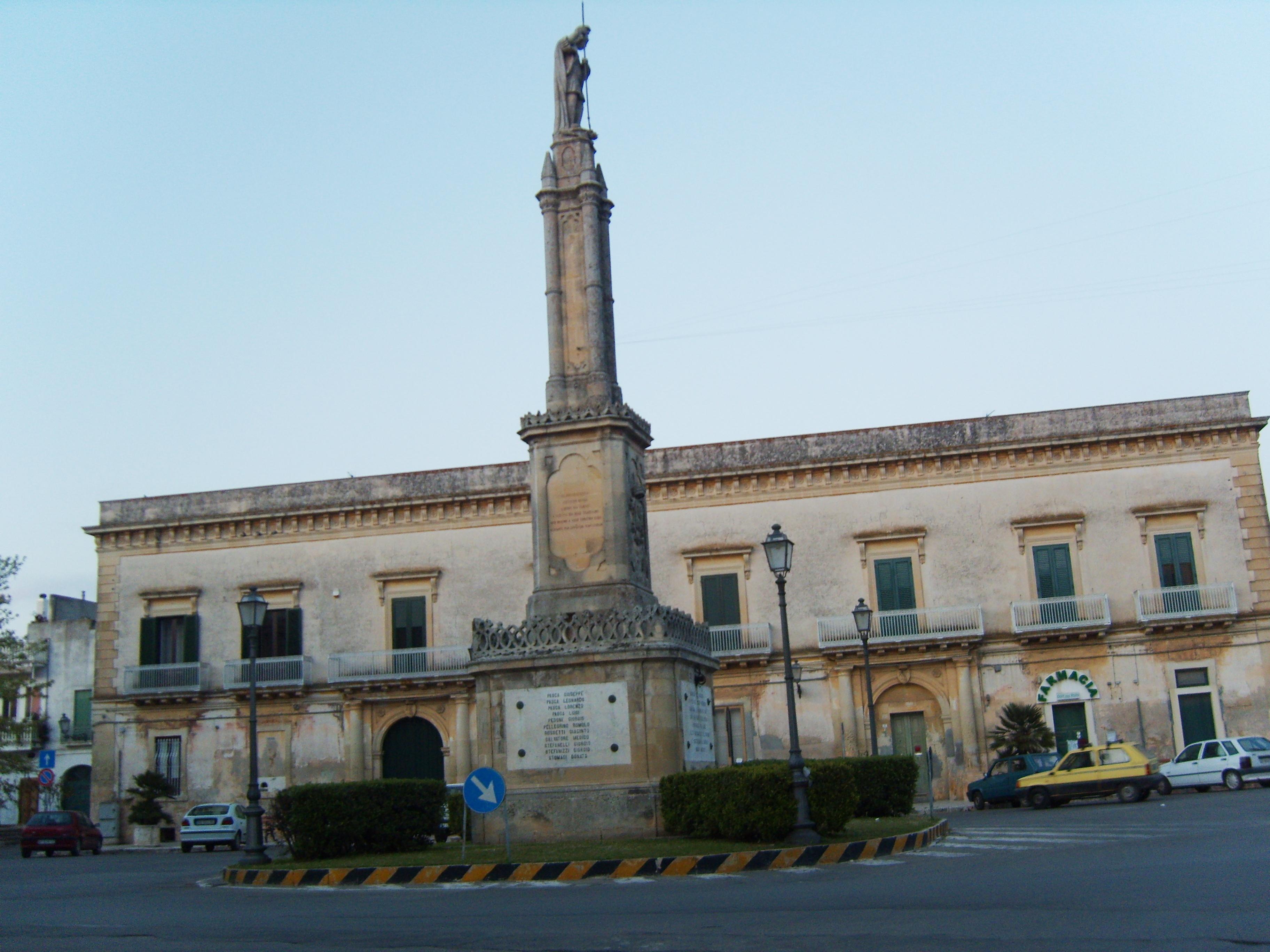 Foto Bagnolo Del Salento : File bagnolo del salento piazza g wikimedia commons